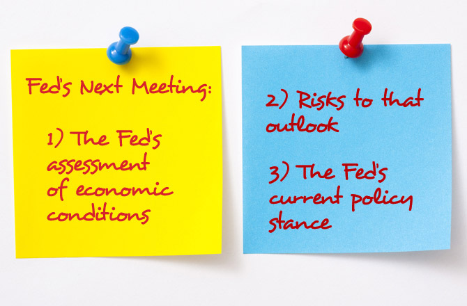 Three Things to Watch For From the Fed's Next Meeting